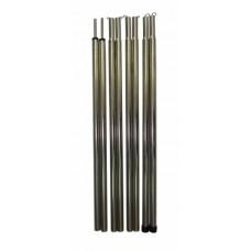 Комплект стальных стоек для тента 2 х 140 см Ø 16 мм