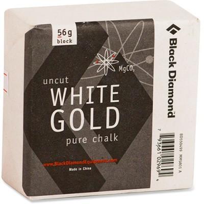 Black Diamond Uncut White Gold Pure Chalk Block 56g