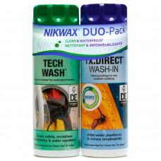 Nikwax Twin Pack (Tech Wash 300 ml + TX. Direct Wash-in 300 ml)