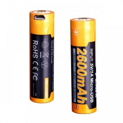 Аккумулятор 18650 Fenix 2600 mAh (ARB-L18-2600U)