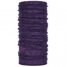 BUFF® Lightweight Merino Wool Multi Stripes purple