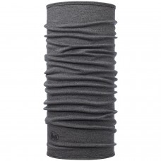BUFF® Midweight merino wool light grey melange