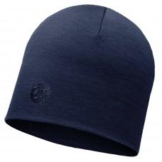 BUFF® Heavyweight Merino Wool Hat solid denim