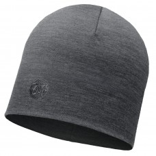 BUFF® Heavyweight Merino Wool Hat solid grey