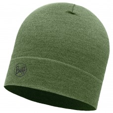 BUFF® Midweight Merino Wool Hat light military melange