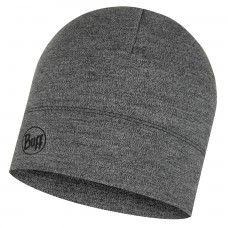 BUFF® Midweight Merino Wool Hat light melange grey