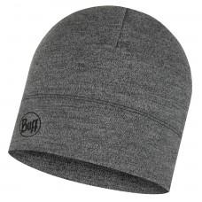 BUFF® Midweight Merino Wool Hat light melange grey