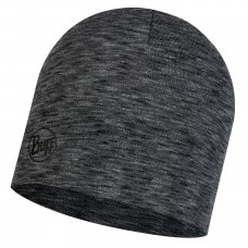 BUFF® Midweight Merino Wool Hat multi stripes graphite