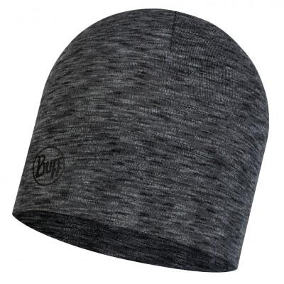 BUFF® Midweight Merino Wool Hat multi stripes graphite