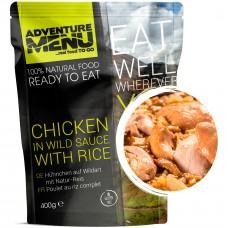 Adventure Menu курица в соусе с диким рисом