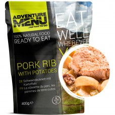 Adventure Menu свиные ребра с отварным картофелем