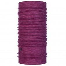 BUFF® Lightweight Merino Wool multi stripes raspberry