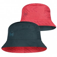 BUFF® Travel Bucket Hat collage red-black