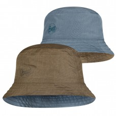 BUFF® Travel Bucket Hat zadok blue-olive