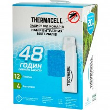 Thermacell Mosquito Repellent Refills 48 hours (пластины + картриджи)
