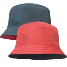 BUFF® Travel Bucket Hat Сollage red / black