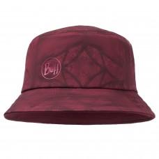 BUFF® Trek Bucket Hat Calyx dark red