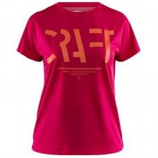 CRAFT Eaze SS Logo Mesh Tee Women