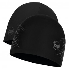 BUFF® Microfiber Reversible Hat r-solid black