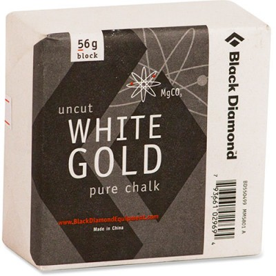 Black Diamond Uncut White Gold Pure Chalk Block 56g