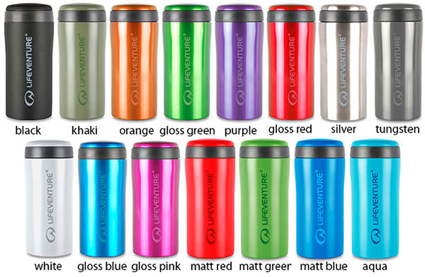 Lifeventure Thermal Mug colors